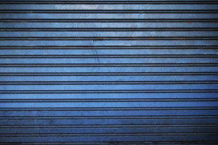 Background of metal door in grungy style photo