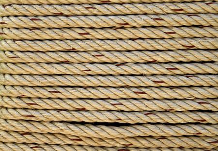 Detail look of ropes texture  Stock Photo - 9514514