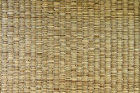 Mat pattern handmade from dried grass Stock Photo - 9514584