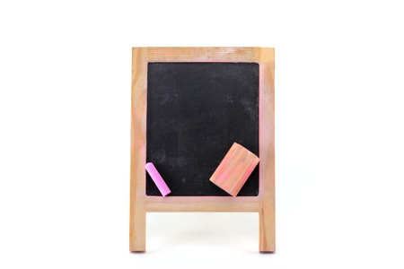 Blank black board photo