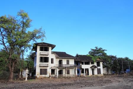 Abandoned old house photo