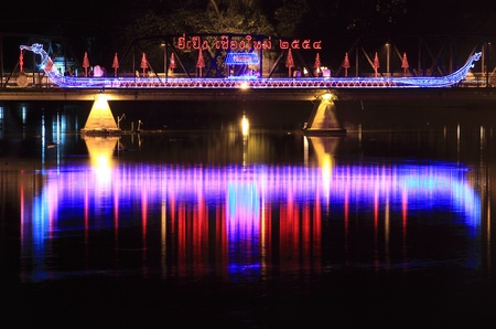 Lantern Festival or Yee Peng Festival in Chiangmai Thailand.