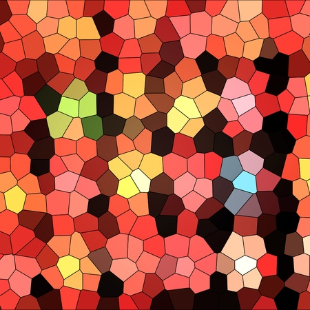 Multi colored stained glass texture