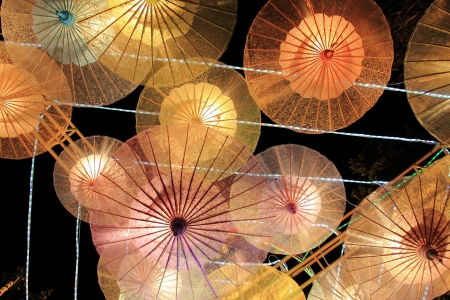 colorful lantern: Lantern Festival or Yee Peng Festival or Chinese New Year