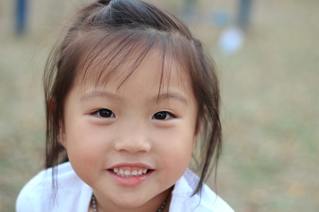 pretty lady: Asian girl Portrait Stock Photo