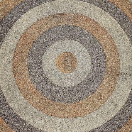netty: circle stone texture background Stock Photo