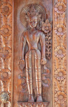 apsara: Apsara Wood carving