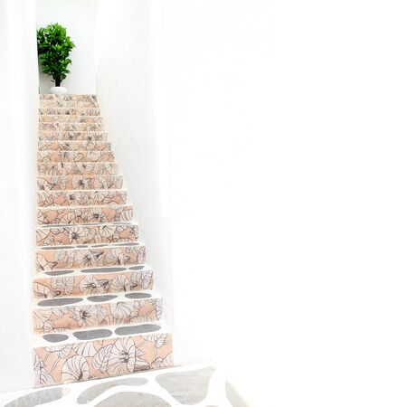 modern stair with blank space photo