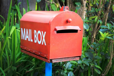 Mail Box in the nature photo