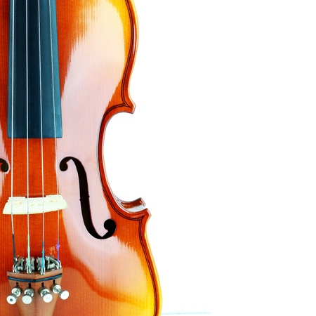 Violin isolated on white background Stock Photo - 14947501