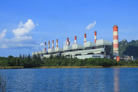 coal plant: Coal power plant