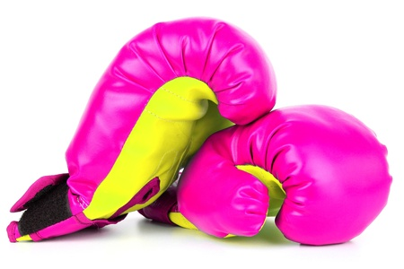 Boxing glove isolated white background Stock Photo - 16568043