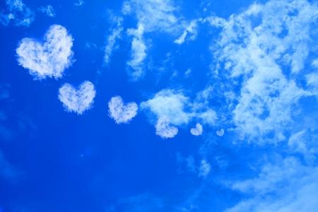 Heart Cloud on the sky