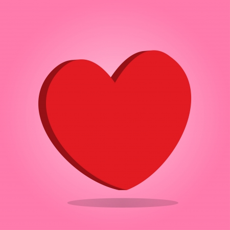 Red hearts Valentine day Stock Photo - 17747397