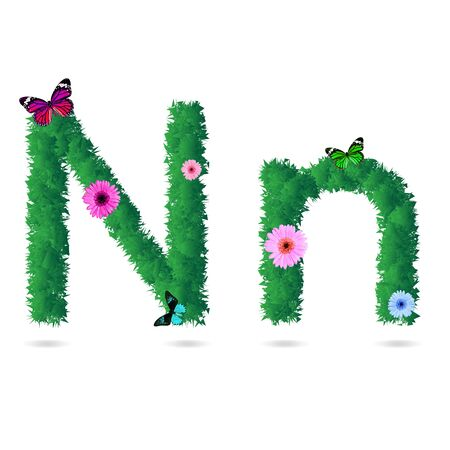 nature grass font Stock Photo - 18238495