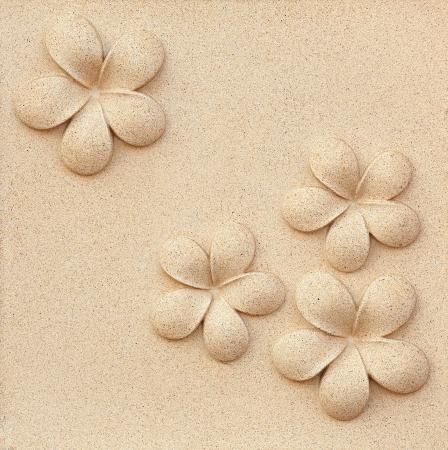 Plumeria carved stone Stock Photo - 18295908