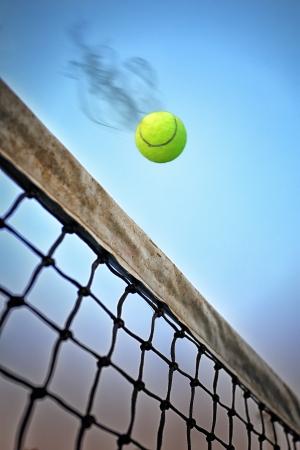 Tennis aanval Stockfoto