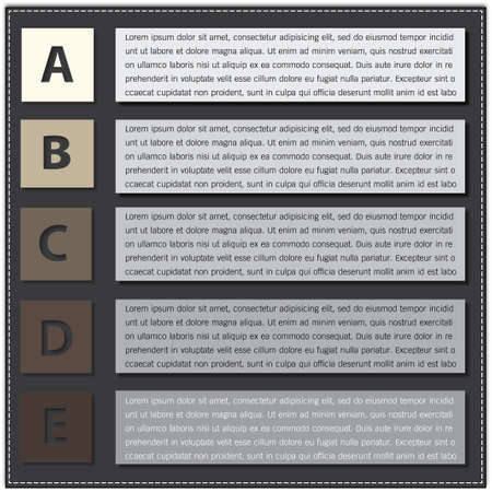 Modern Design template   can be used for infographics   numbered banners   horizontal cutout lines   graphic or website layout vector in EPS 10 format