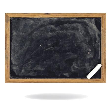 blank slate: blank blackboard