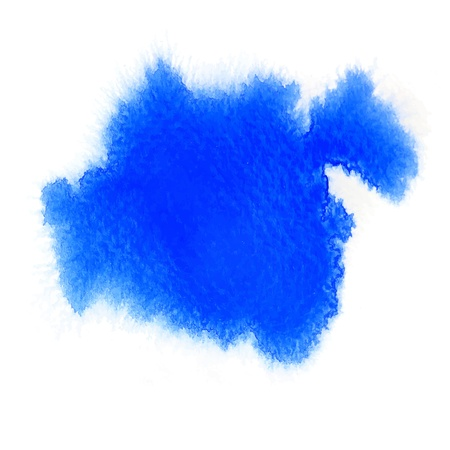 blue color abstract watercolor Illustration