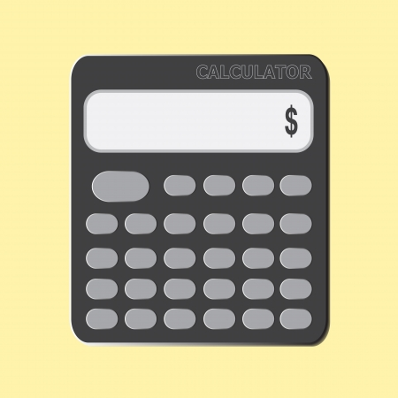 icon calculator Stock Vector - 20692170