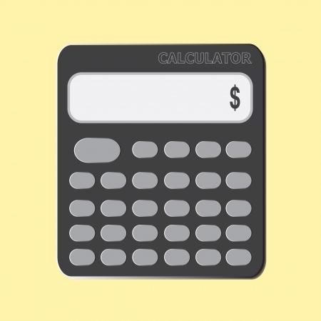 icon calculator Stock Vector - 20692170