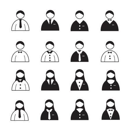 User Icons or People Icons Vector