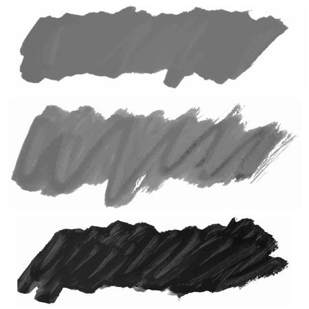 brush strokes collection  Illustration