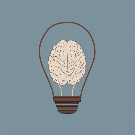 ampoule: Construire dans l'ampoule ic�ne vecteur logo, concept id�e