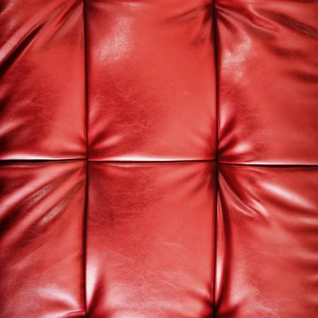 Texture of Red leather photo
