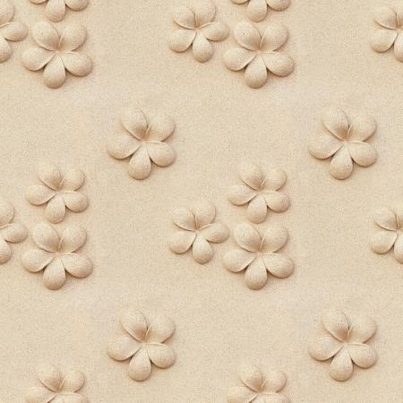 Naadloze Plumeria stenen Stockfoto