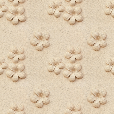 Seamless Plumeria carved stone photo
