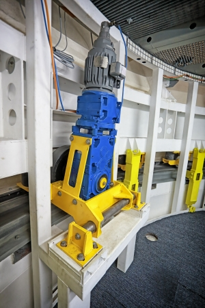 conveyors: Roller of Telescope in the Observatory