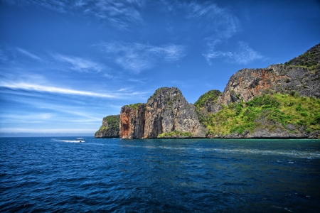 tropical island phuket thailand photo