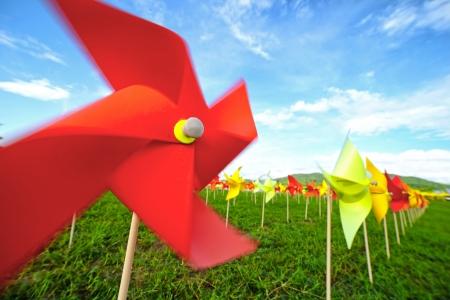 wind turbine: Origami Wind Turbine farm