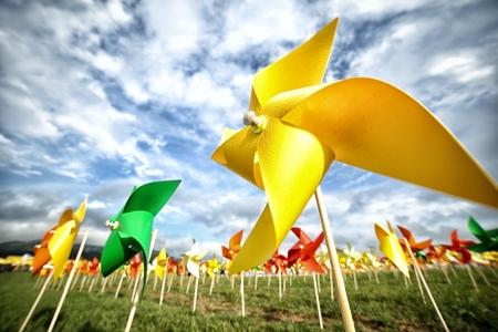 折り紙風車ファーム