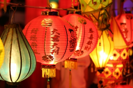 chinese lantern  Foto de archivo
