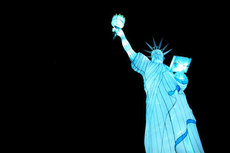 lantern Statue of Liberty photo