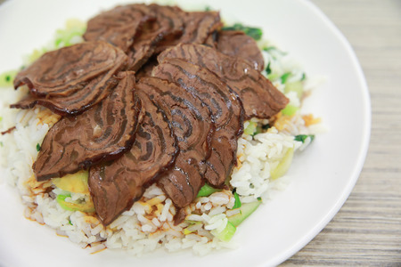 Beef rice photo