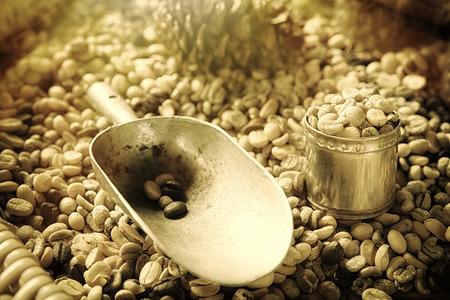 coffeetree: coffee beans