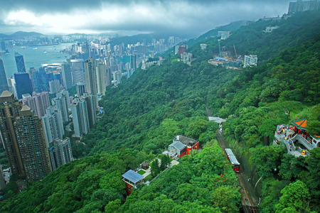 The Peak in Hong Kong photo