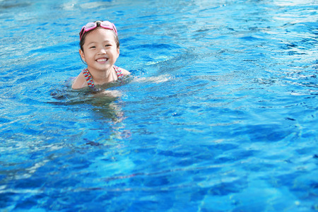 children in swimming pool photo