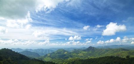 mountain at north thailand photo