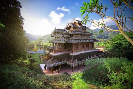 Wat Huai pha, Mae hong son Thailand photo