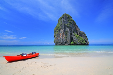 railey: Railey beach, Krabi Thailand Stock Photo