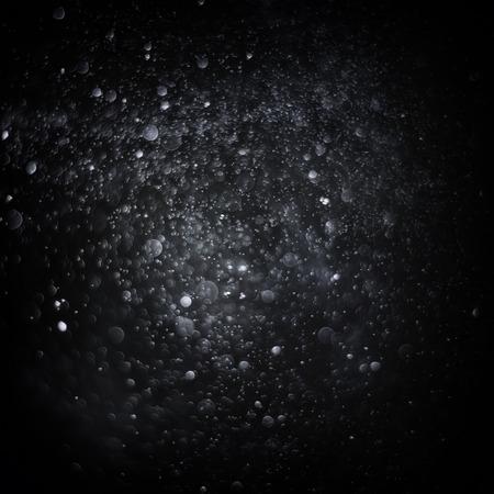 dark backgrounds: Bokeh background Stock Photo
