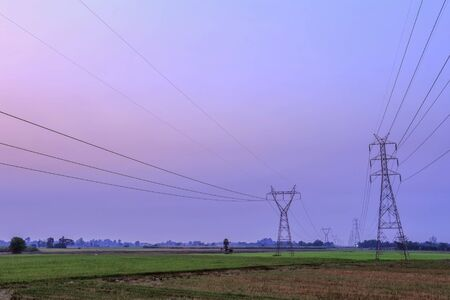 electric utility: High voltage electricity pylon