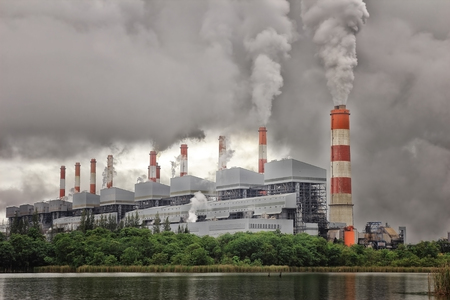 coal fired: Coal power plant