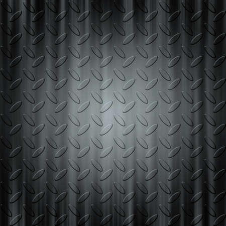 ironworks: Steel diamond plate pattern seamless background texture