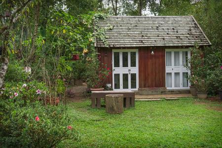 작은 나무 집